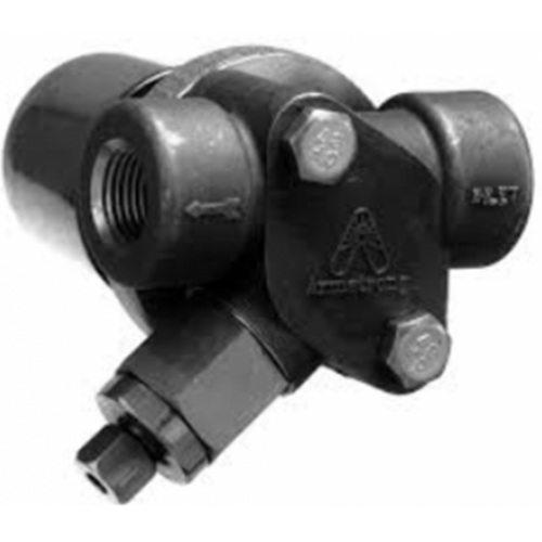 Armstrong ALL STAINLESS STEEL steam trap BIMETALLIC for superheat steam with UNIVERSAL CONNECTOR