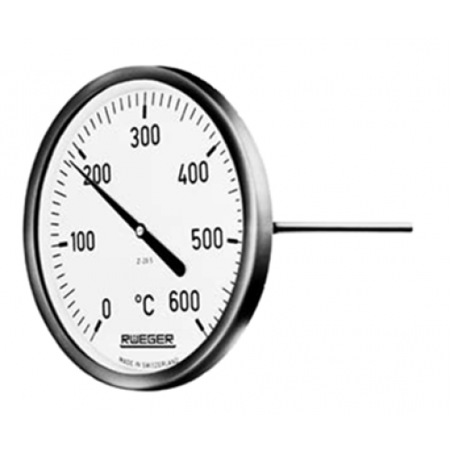 Rueger TM Series Bimetallic Thermometer (up to 600 deg c)