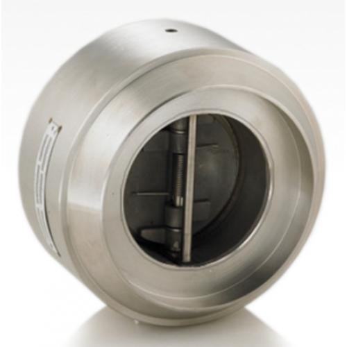 KJS retainerless dual plate check valve