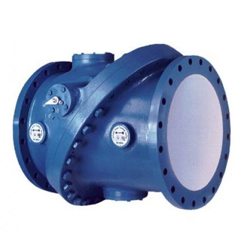 Valmatic tilted disc check valve