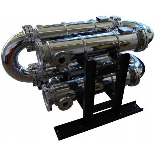 Komax sludge heat exchanger