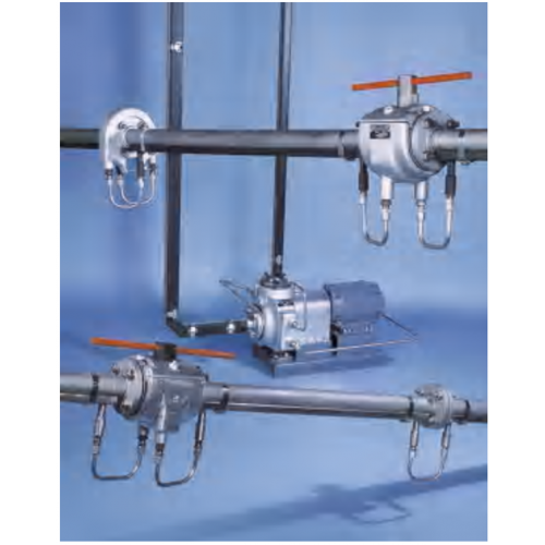 CSI heat tracing system for pump, instrument & valves