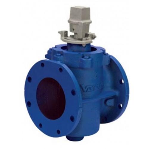 Valmatic eccentric plug valve