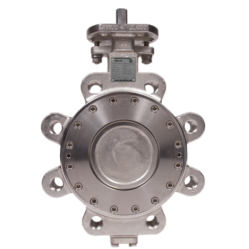 Delval series 44-49 High Performance Double Offset butterfly valve