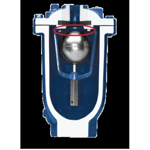 Valmatic air vacuum valve