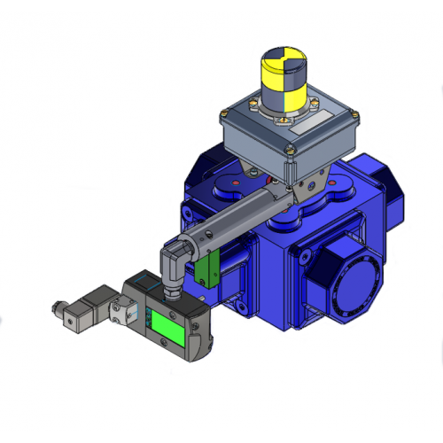 Habonim emergency shutdown ball valve
