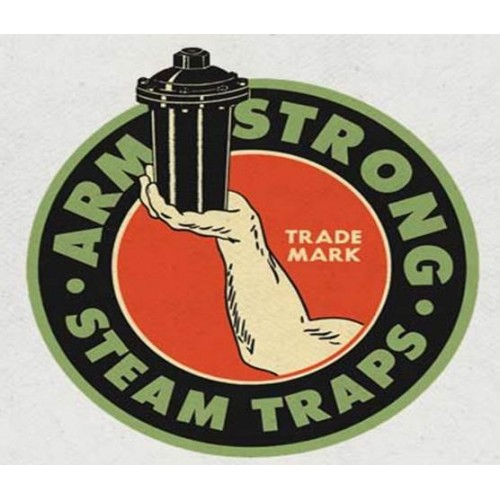 Armstrong cast iron Inverted Bucket Steam Trap 880 Series with integral strainer