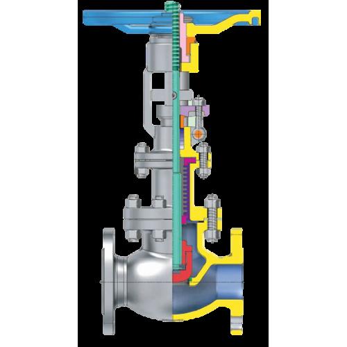 KJS bellow sealed valve