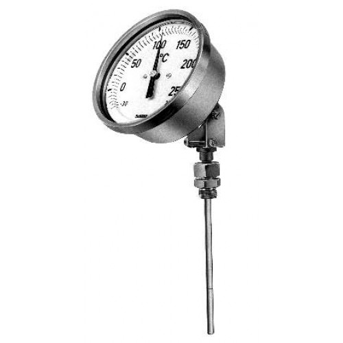 Rueger TG series gas pressurized thermometer with rigid stem (up to 800 deg c)