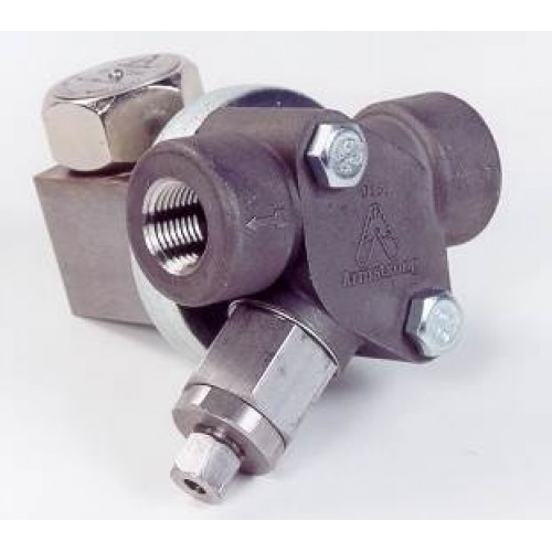 Armstrong ALL STAINLESS STEEL steam trap thermodynamic disc with UNIVERSAL CONNECTOR