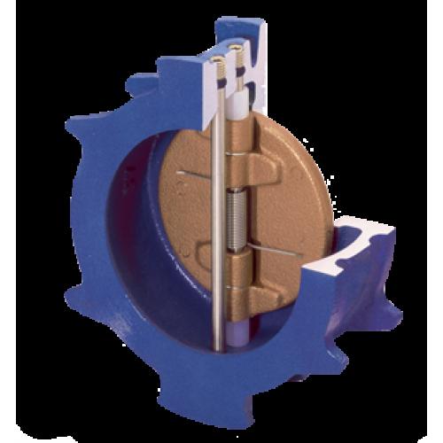 Valmatic dual disc check valve