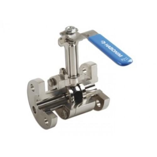 Habonim metal seated ball valve