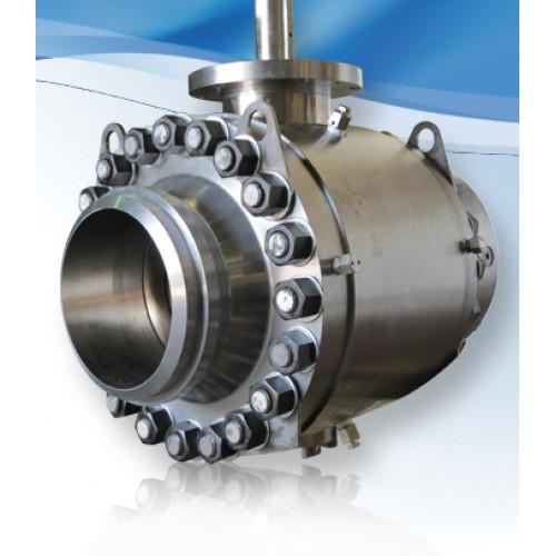 Habonim trunnion mounted ball valve