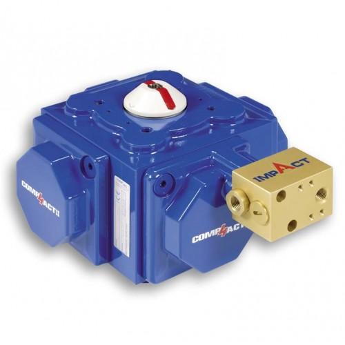Habonim Impact spring assist for pneumatic actuator (torque booster)