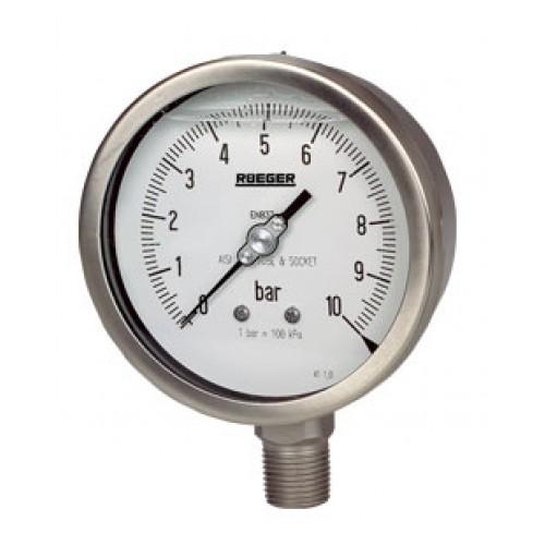 Rueger pressure gauge