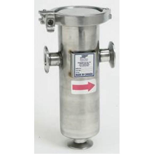 Sureflow fabricated sanitary strainer